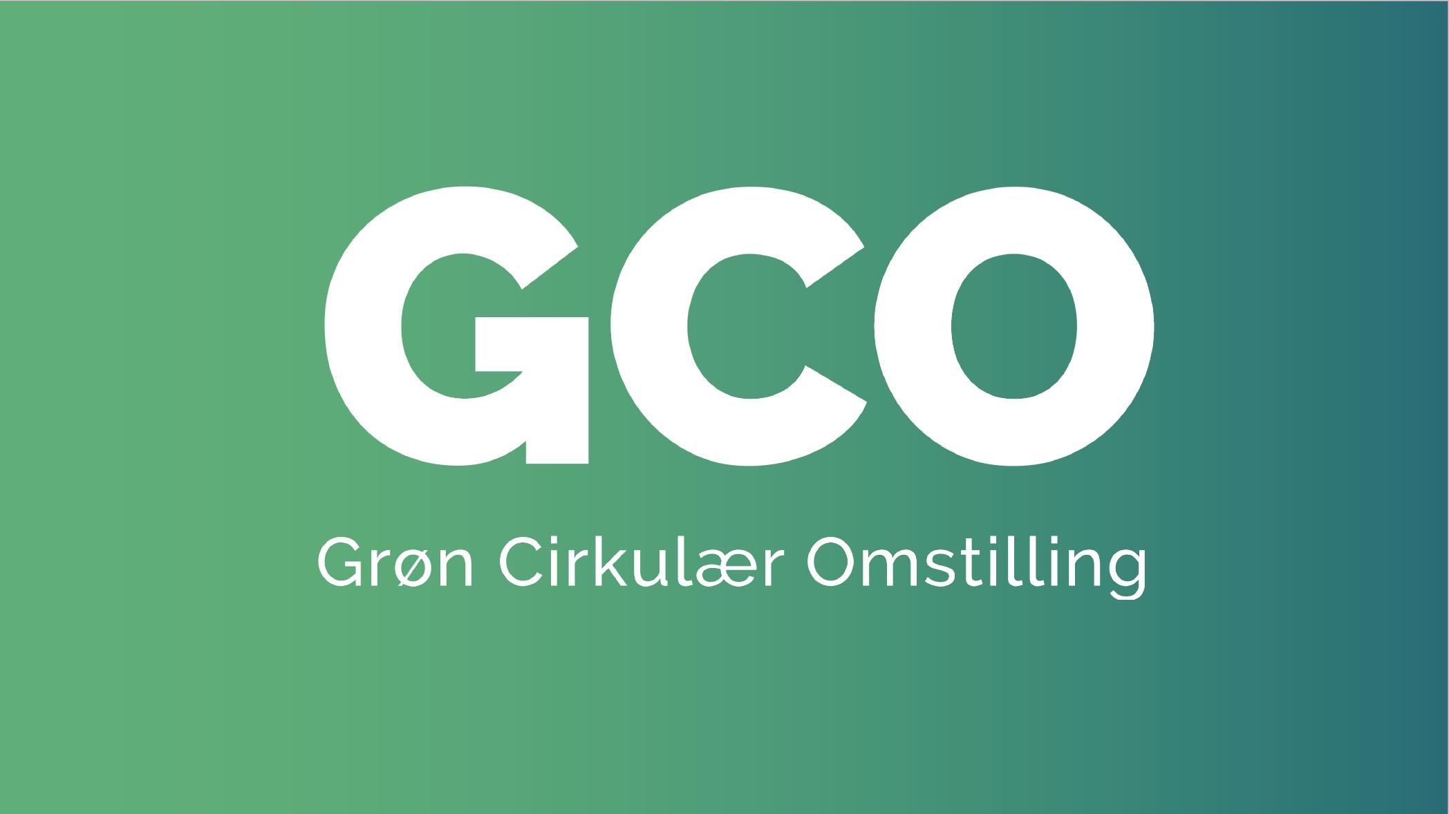 GCO – Grøn Cirkulær Omstilling